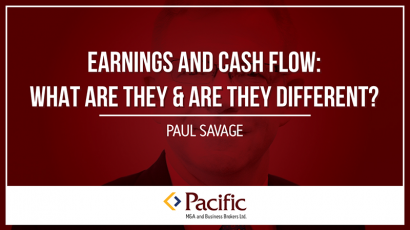 earnings and cash flow