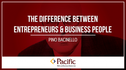 difference between entrepreneurs and business people