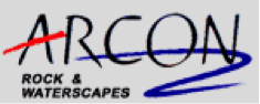 arcon rock & waterscrapes logo