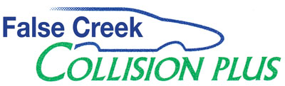 false creek collision plus logo