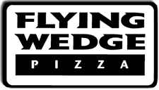 flying wedge pizza logo