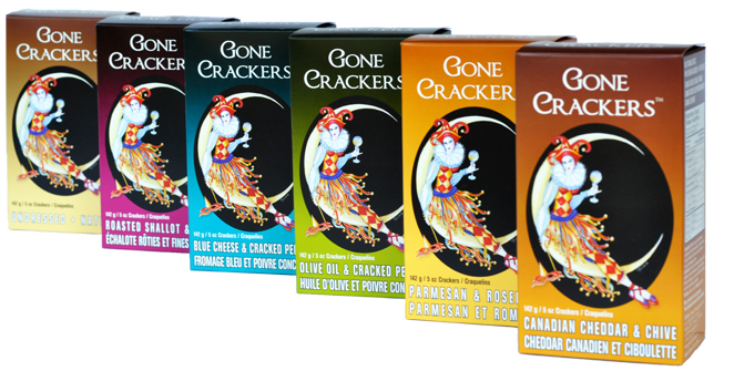 gone crackers logo