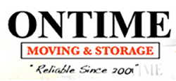 ontime moving & storage logo