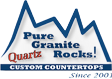 pure granite rocks logo