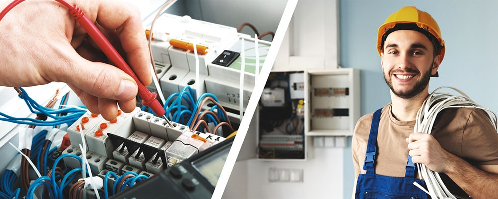 electrical contractor at work in vancouver, bc