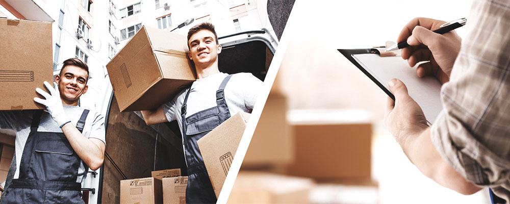 movers handling packages
