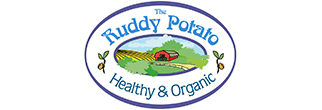 the ruddy potato branding